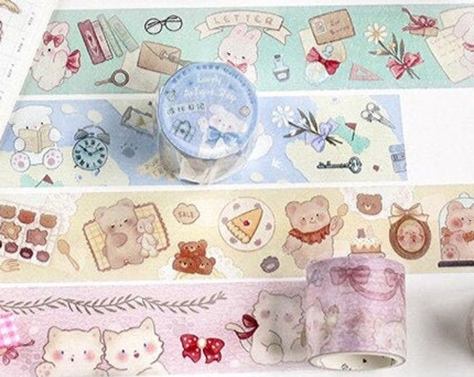 Fluffy Pet Washi Tapes