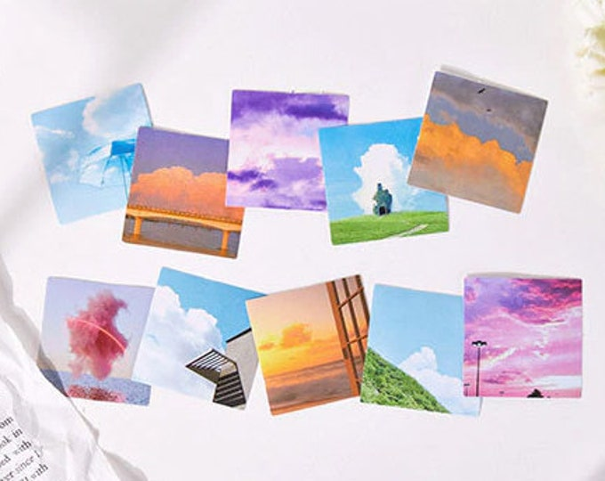 Sky Sticker Series