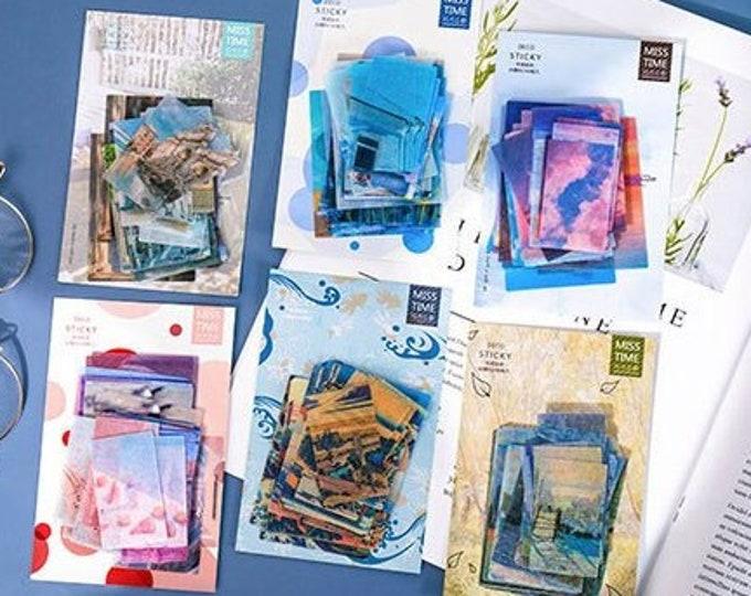 Photo Sticker Pack: Scenery & Art