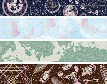 Celestial Dream Washi Tapes: 8 Patterns