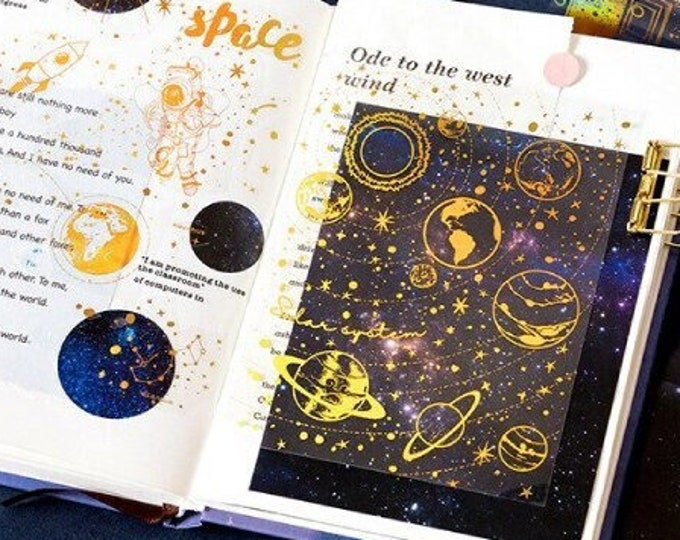 Space Sticker Sheets
