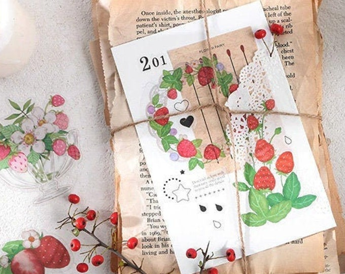 Berry Stickers: Forest Tea Party Collection