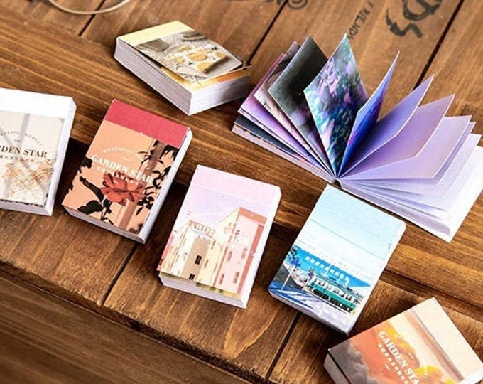 Garden Star Mini Sticker Books