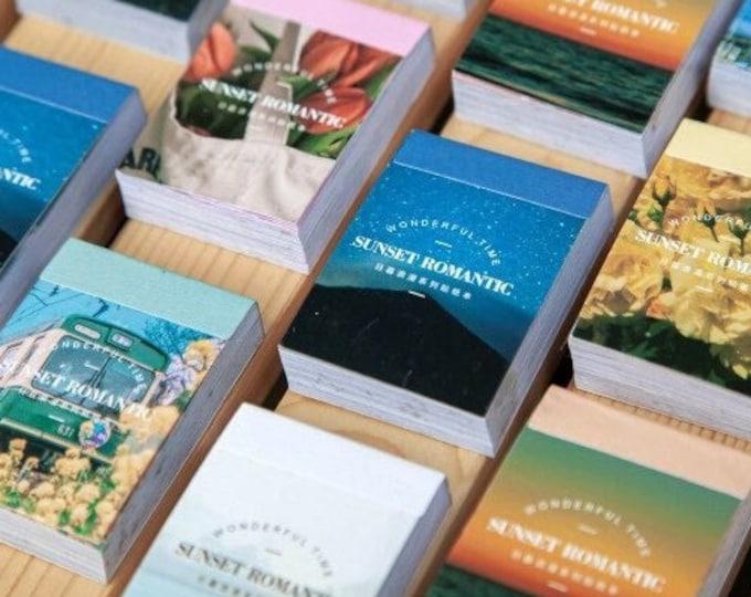Sunset Romantic Sticker Books