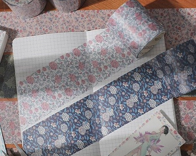 Antique Floral Washi Tapes