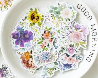 Flowers Bloom Stickers
