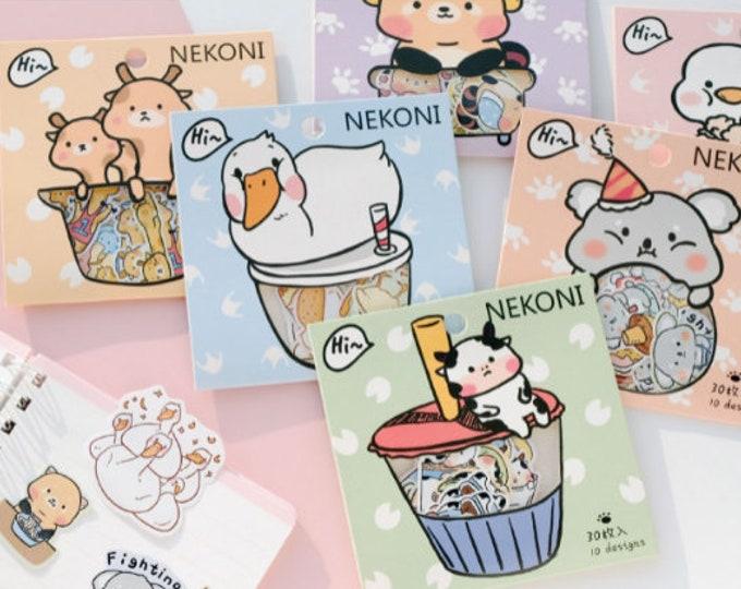 Animal Sticker Packs