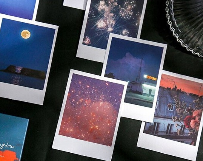 Polaroid Sticker Packs: 4 Styles