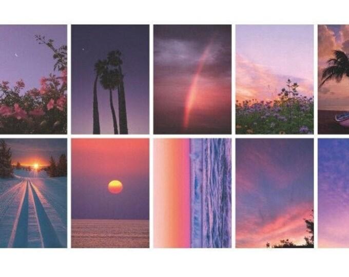 Sunset Vellum Paper Sheets