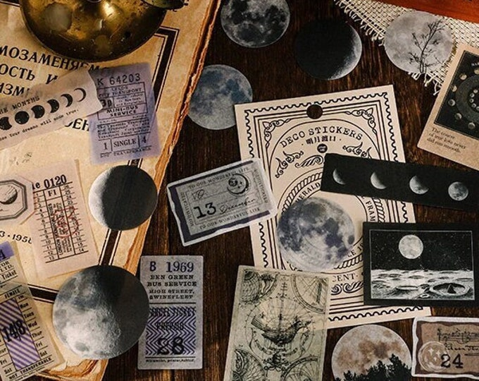 Moon Phases Stickers