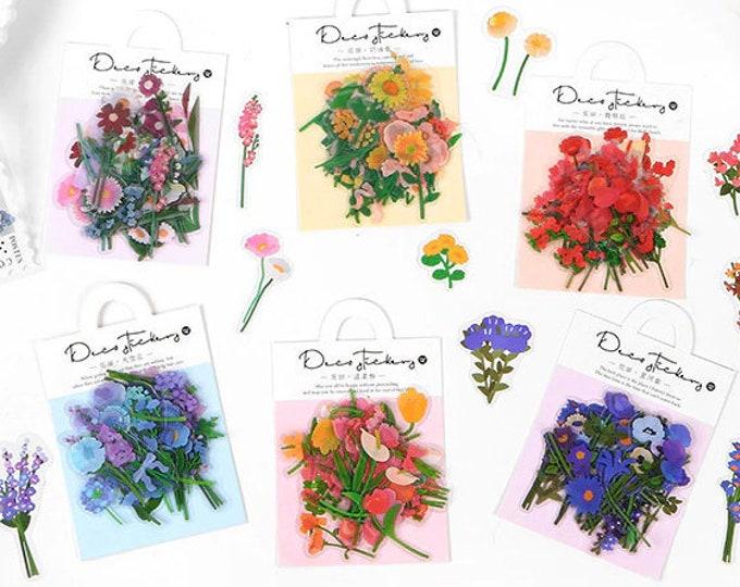 Flower Bundle Sticker Packs