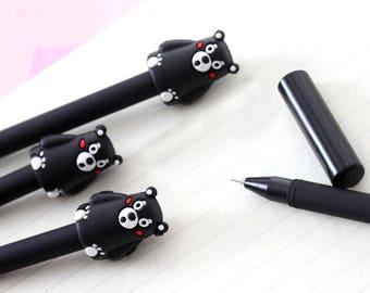 Bear Pen, Kumamon, Cute Little Things, Fine Tip, Black Gel