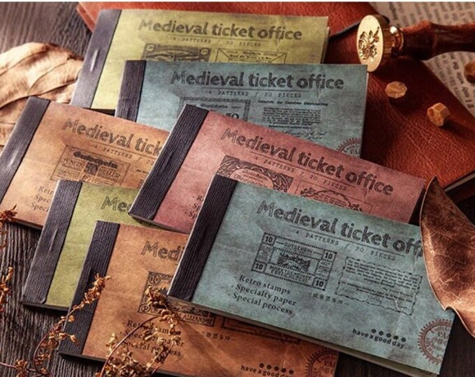 Medieval Ticket Booklets