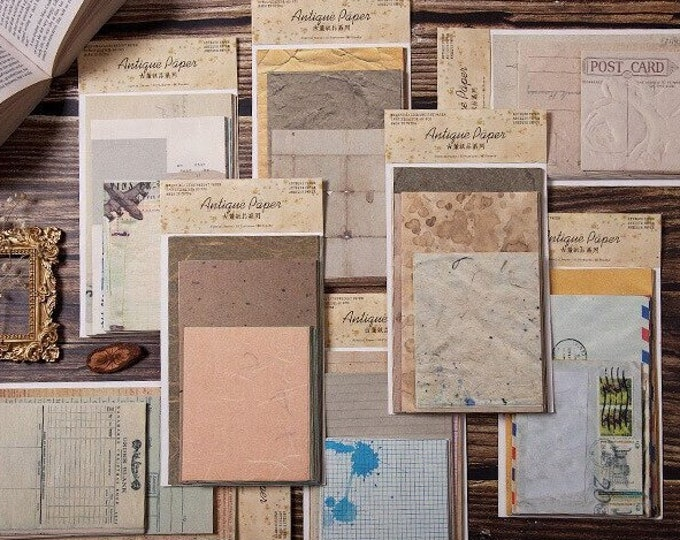 Antiqued Papers, Larger Sheets