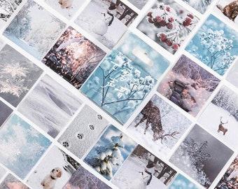 Ice & Snow Stickers