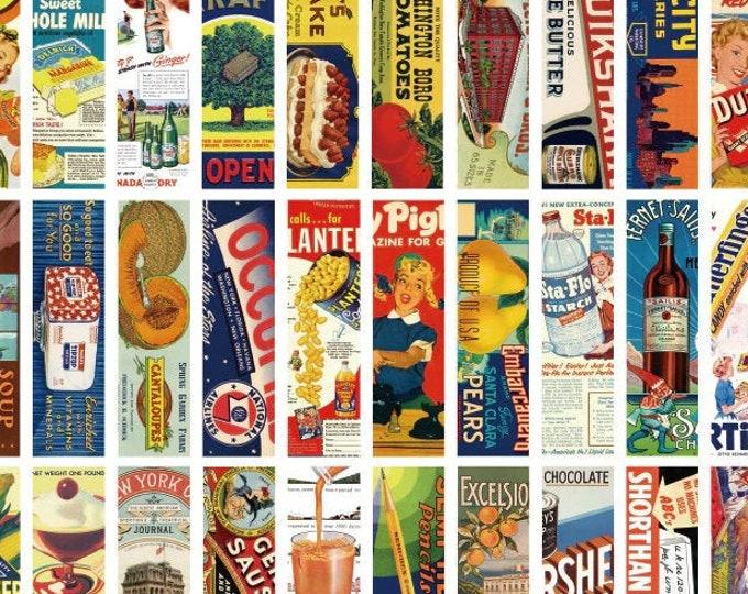 Retro Ad Bookmarks