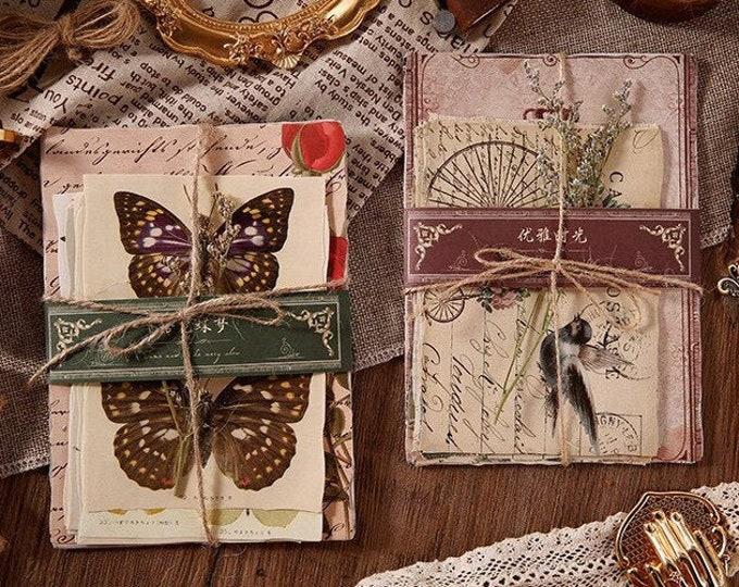 Paper Sets, Photos & Writing