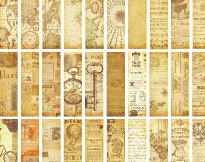 Antiqued Bookmarks