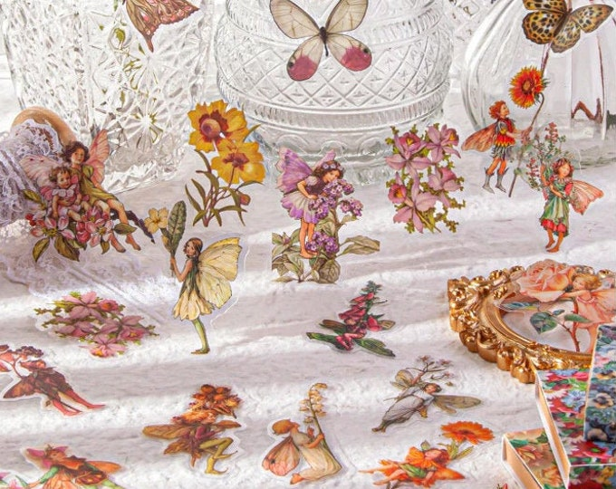 Fairy Flower Stickers