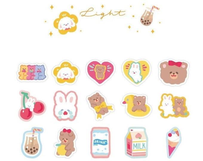 Playful Sparkle Light Stickers