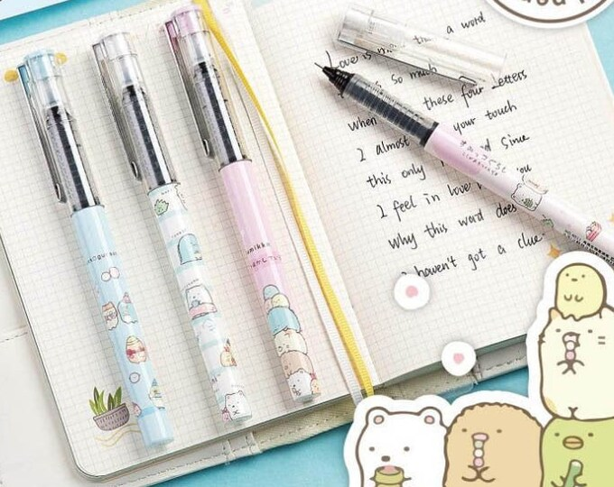 Sumikko Gurashi Roller Ball Pens
