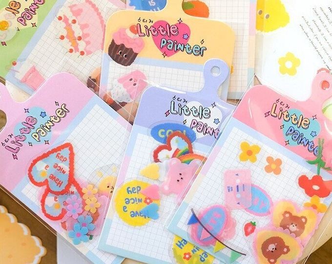 Little Painter Stickers