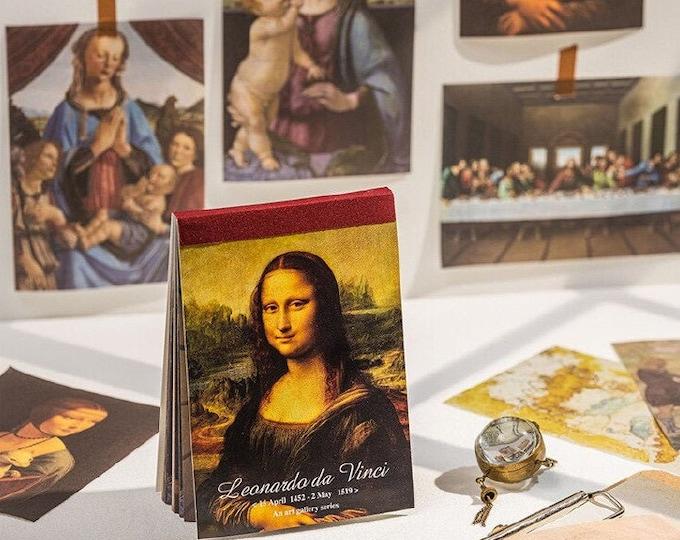 Da Vinci: Paper Sheet Book