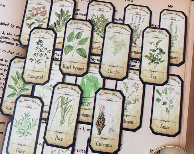 Herb Stickers