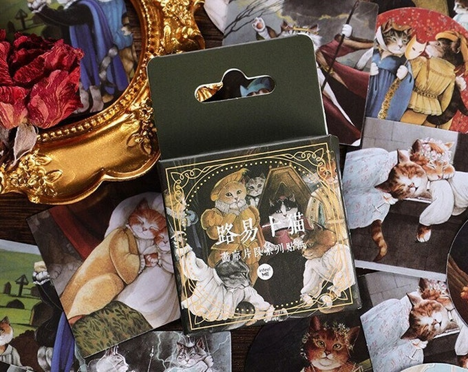 Once Upon a Cat Stickers