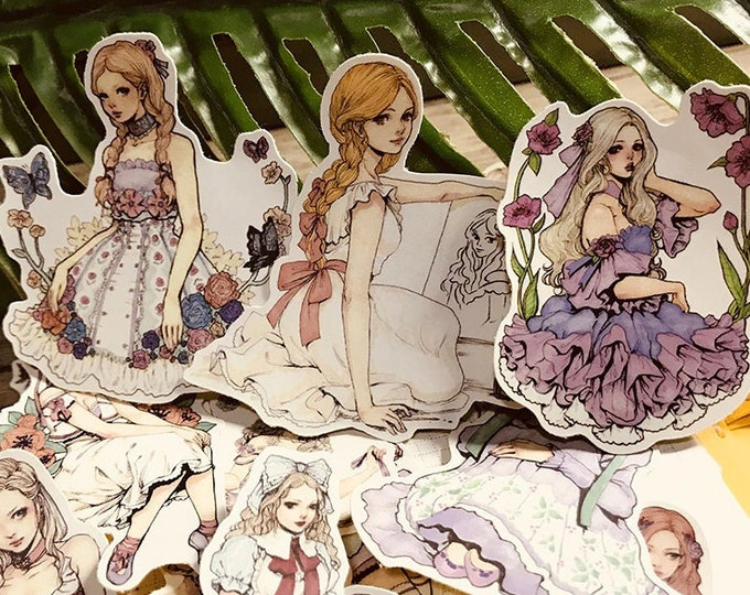 Girl Stickers