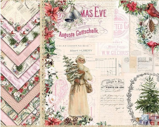 Vintage Holiday Paper Sheets