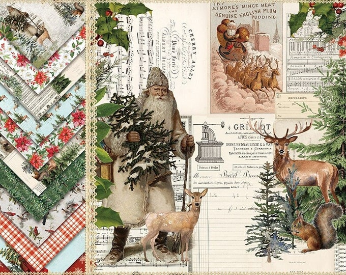 Winter Forest Paper Sheets