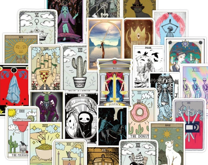 Tarot Card Decal Stickers