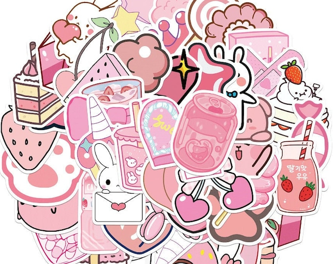 Pretty in Pinks Decal Stickers