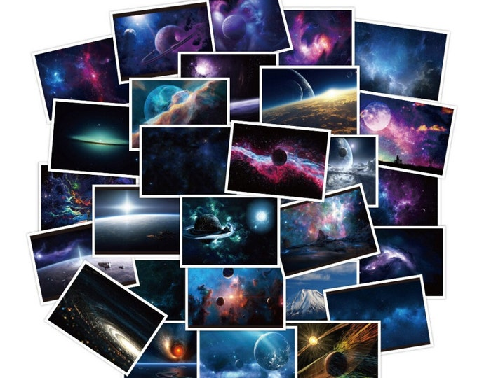 Into the Galaxy Stickers