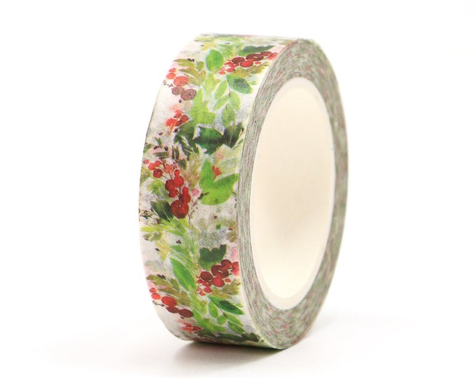 Lush Green & Berries Washi Tape