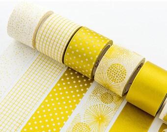 Gold Washi Tape, 30mm, Wide, Shiny, Bold, Gorgeous