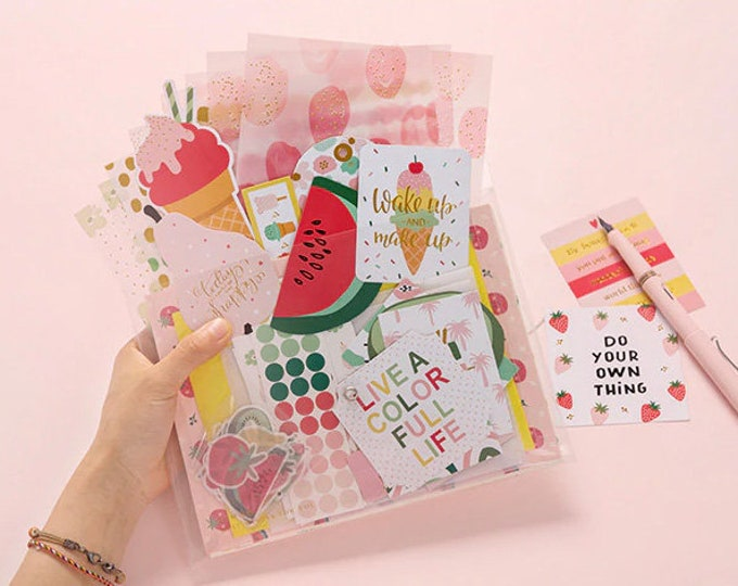 Stationary Pack: Bright Fruits