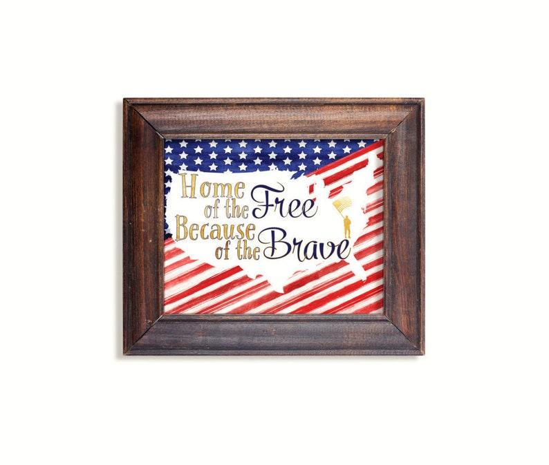 graphic regarding Free Printable American Flag named Household of the Cost-free print. American Flag patriotic print. Quick printable.PDF JPG do-it-yourself electronic wall artwork.4th of July Memorial Working day Veterans Working day