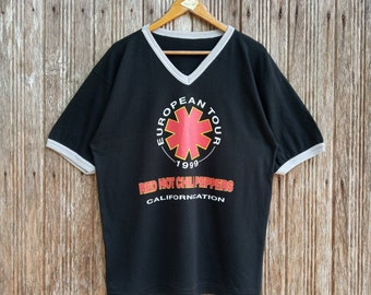 f1161a09b3e83 Rare!! Red Hot Chili Peppers RHCP Californication Concert Tour T-shirt  large size