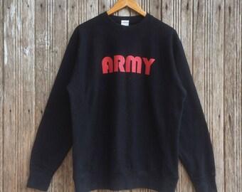 9bb64f34b3d A Bathing Ape Army BAPE sweatshirts unisex medium size