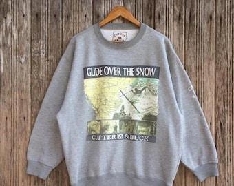 Cutter Buck Sweater Etsy