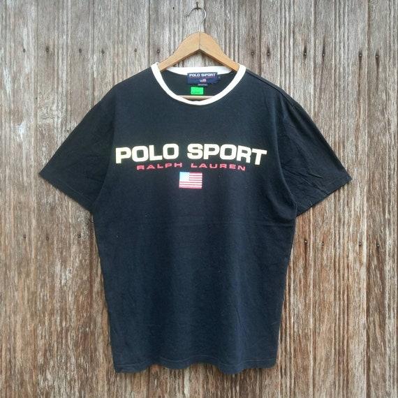 Rare!! Polo Sport by Ralph Lauren Big Logo Polo Sp