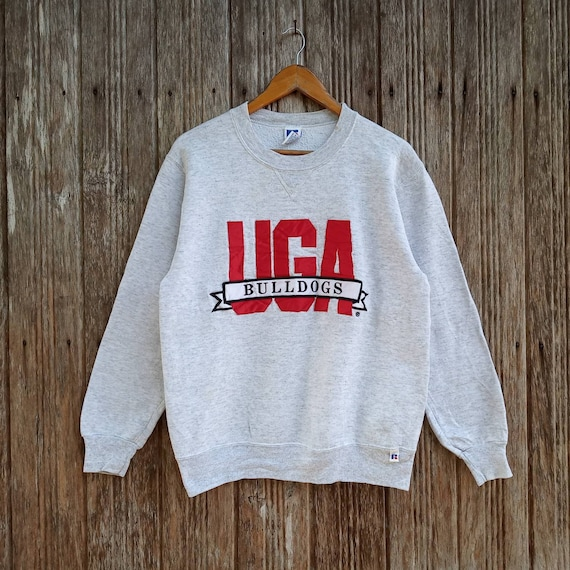 Rare!! Russell Athletic Embroidery Logo Sweatshirt