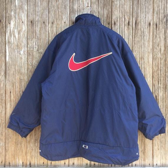 Nike veste tissée swoosh big logo taille L Neuve