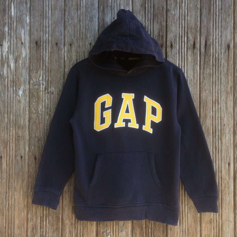 d6efa2ef3 GAP Spellout Big Logo Embroidery Style Logo GAP Sweater Hoodie