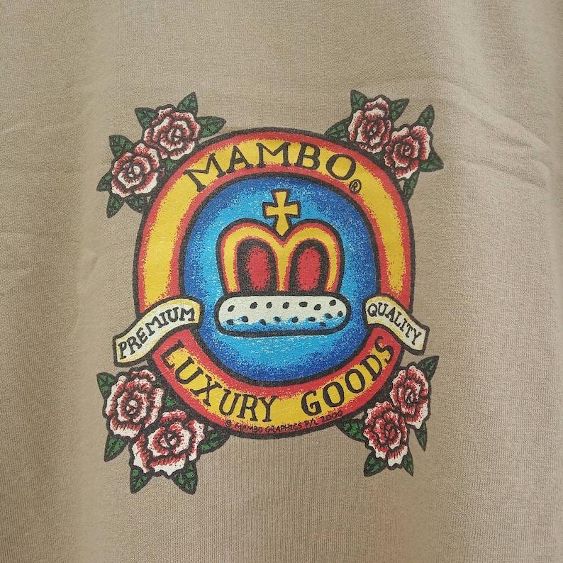 Rare! Vintage Mambo Graphics Art Australia Surf Style T-shirt size L
