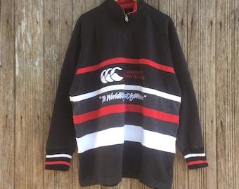 Rare!! Vintage Canterbury Of New Zealand Sweatshirt Jumper Pullover Nice Design XL size