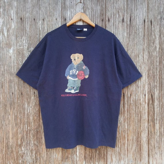 Vintage Polo Bear by Ralph Lauren Big Logo Polo Be