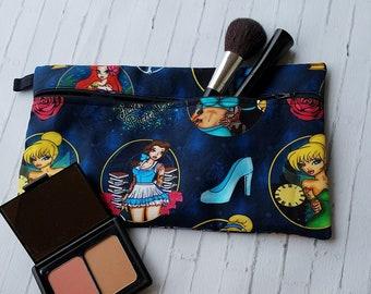1281ed0ba1a0 Sexy Tattoo Princess Pinup Blue Makeup